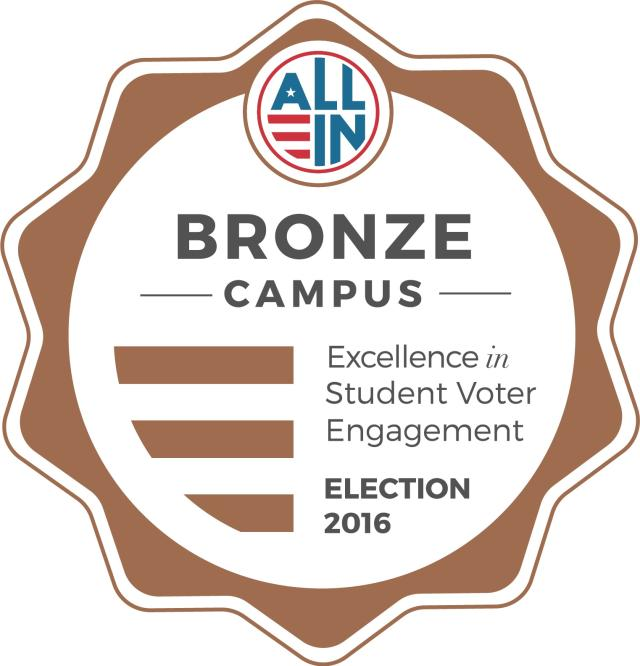 Bronze Seal - Fall 2016 Election