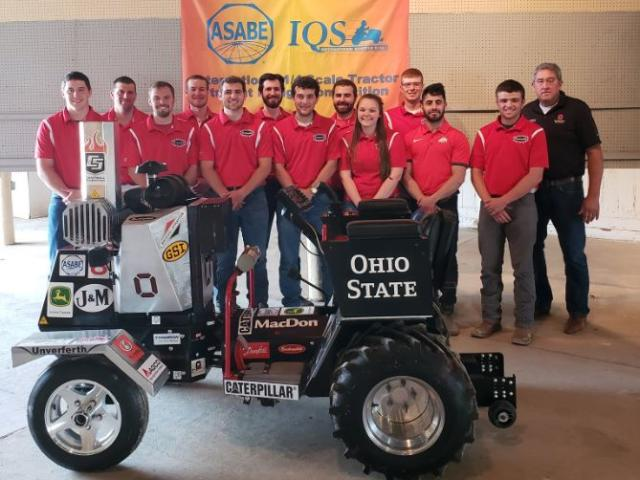 Quarter-Scale Tractor Student Design Team Logo