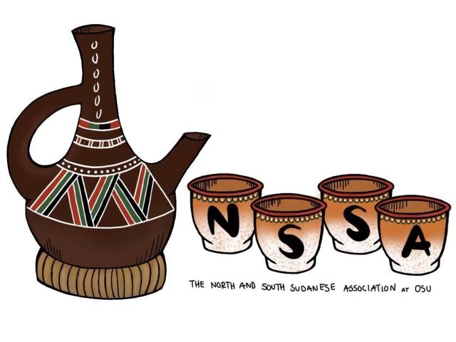 North and South Sudanese Association Logo