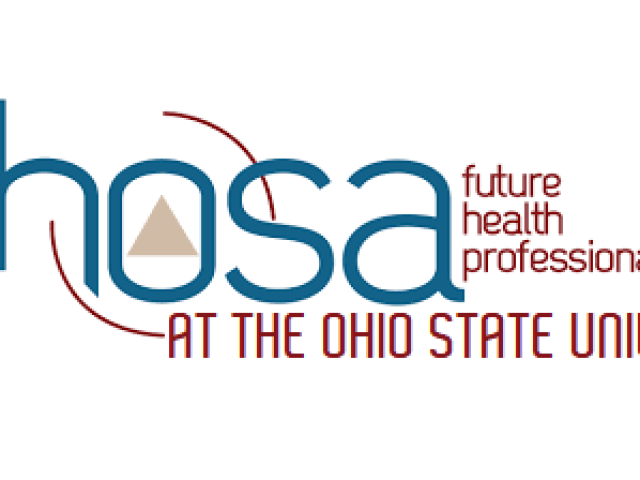 Health Occupations Students of America- Future Health Professionals at The Ohio State University Logo