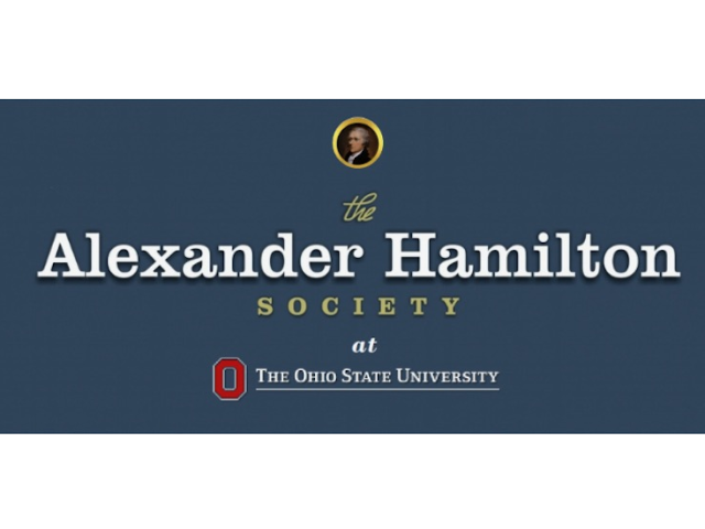 The Alexander Hamilton Society at the Ohio State University Logo