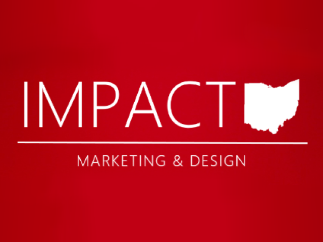 Impact Marketing and Design Logo