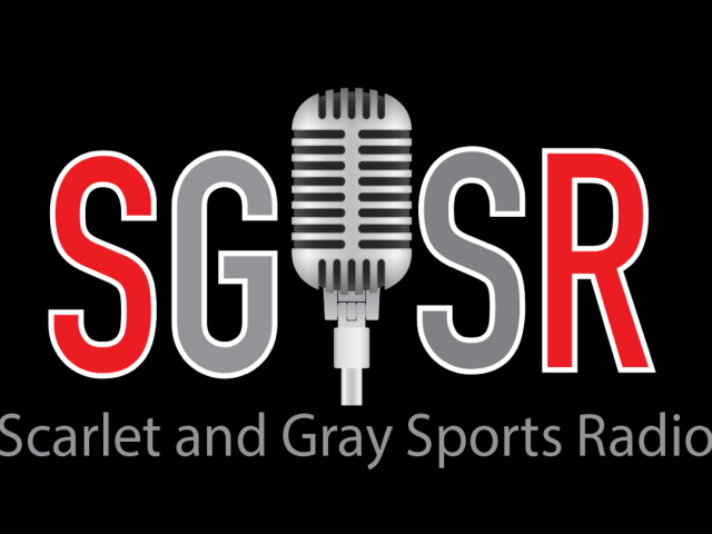 Scarlet and Gray Sports Radio Logo