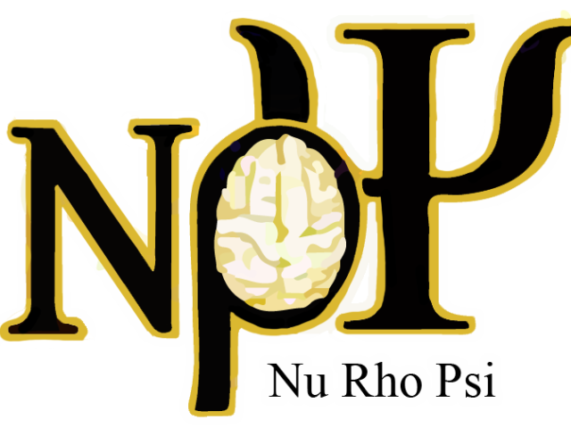 Nu Rho Psi: Epsilon Chapter Logo