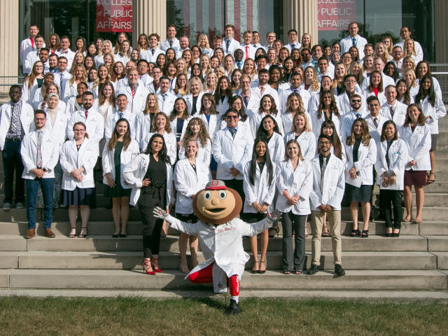 P1 PharmD Class Officers of The Ohio State University Logo