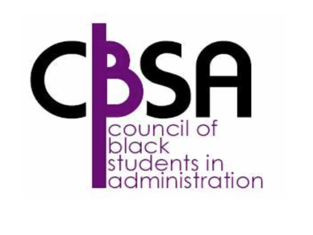 Council of Black Students in Administration Logo