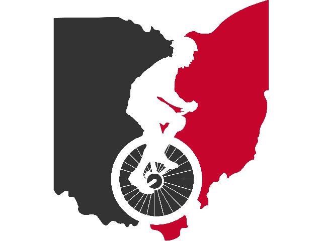 Unicycle Club at The Ohio State University Logo