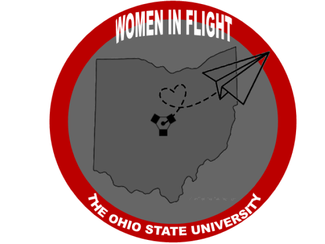 Women in Flight at The Ohio State University Logo